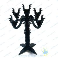 China CH (14) hand blown Acrylic candle holders wholesale