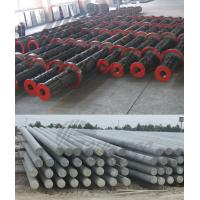 China 12m 13m Electronic Concrete Pole Steel Mould With Dia 600mm / 650mm ISO wholesale