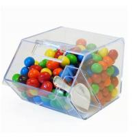 China Custom High Strength Acrylic Layered Candy Stores Display Box/Candy Storage wholesale