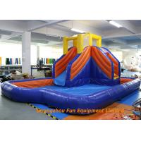 China Home Jumping Kids Wet Giant Commercial Inflatable Slide / Water Slip And Slide wholesale