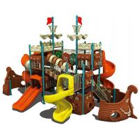 China pirate ship plastic swing sets,toddler outdoor play equipment,kids playground toys on sale