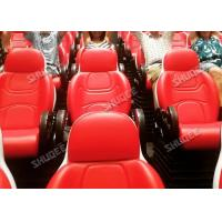 Quality Interactive 7D Movie Theater / 5D Motion Cinema Motion Seat Theater Simulator for sale