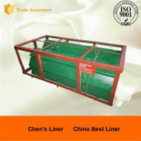 China High Chrome White iron Chute Liners Sand Casting Parts for Crusher wholesale
