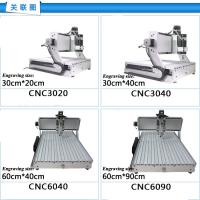 China NEW 3 axis 6040 1500W USB MACH3 CNC ROUTER ENGRAVER/ENGRAVING 220VAC wholesale