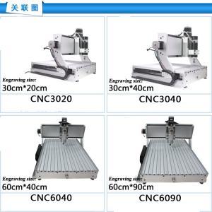 China New! USB Mach3 4 axis 6040 1500W cnc router engraver engraving machine 220V/110V wholesale