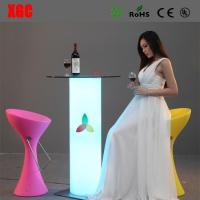 China Remote Control 16 Colors Changing LED Bar Table Coffee Table Tea Table For Events Party Club Wedding Hotel Decoration wholesale