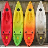 China Red / Yellow / White Aquamagica Water Park Rides Sit In And Sit On Fishing Kayak wholesale