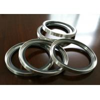 China PTFE / Teflon SS Shaft Oil Seal With Single Or Double Lips For Air Compressor wholesale