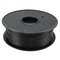 China Biodegradable Black PLA 3D Printer Filament  2.2 Pounds Weight  2 Years Warranty wholesale