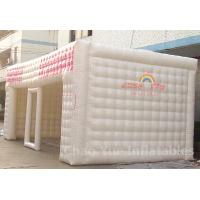China PVC Tarpaulin 8m Inflatable Cube Tent for outdoor wholesale