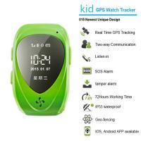 China 015 go everywhere smart wrist watch gps personal tracker for kids/old people with sos call wholesale