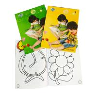 China Kid's Color Filling Book, Children Coloring Book Printing Service wholesale
