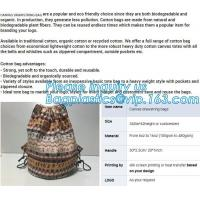 China Manufacturers Wholesale Best Price High-Quality Handle Tote Cotton Canvas Bag With Zipper,supermarket bag cotton mesh ba on sale