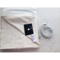 Quality anti-EMF X-STATIC Ag-fiber+cotton conductive earthing sheet bed sheet for sale
