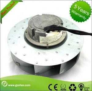 China similar EC Motor Fan Blower , Backward Curved Centrifugal Duct Fan wholesale