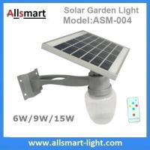 China 6W/9W/15W Solar Parking Lot LED Light Solar Security Light LED Street Light With Solar Panel Mount On Lamp Pole Post wholesale
