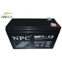 China Sealed 12VDC AGM Absorbed Glass Mat Batteries UPS / Inverter Battery on sale