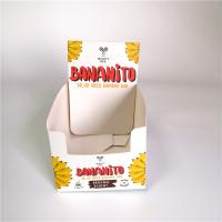 China Custom Printing Fancy Cardboard Packaging Paper Box Counter Top Foldable Type wholesale