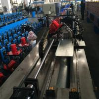 Quality Gear Box Steel Ceiling Roll Forming Machine for purlin Cassette Type for sale