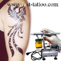 China Airbrush Tattoo (Un-Ts-Mn101) wholesale