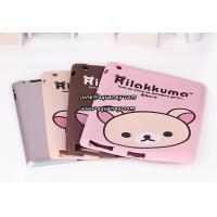China New arrival Rilakkuma soft silicon shell case for ipad 2, good quality soft case for Ipad2 wholesale