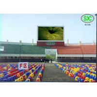 China Full Color Led Sport Court RGB LED Billboard With Slim Cabinet Customized wholesale