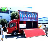 China outdoor p6  full color advertising led screen installed on a  truck with high brightness wholesale