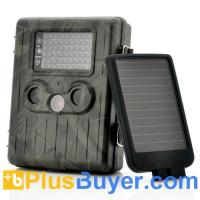 China SolarTrail - Solar Panel 1080p HD Game Camera (54 IR LEDs Night Vision, PIR Motion Detection, MMS) wholesale