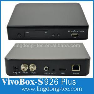 China azbox bravissimo vivobox s926 plus digital satellite receiver for south america wholesale