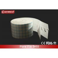 China Clear Medical Tape Non Woven Fabric Adhesive Surgical Tape , S Cut on sale
