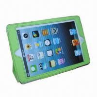 China New Case for iPad Mini, Customized Logos are Welcome, Available in Red, Black and Orange wholesale