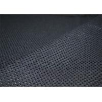 China Fancy Tweed Wool Fabric Black Comfortable For Office Uniforms YF-LG001 wholesale