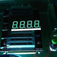 China 0.80 Inch 7 Segment LED Display with 4-digit, Suitable for Temperature Controllers wholesale