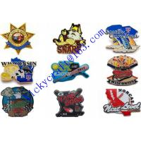 China Promotional gifts color enameled button badges pins wholesale