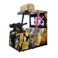 China 42 Inches 1-2 Players Shooting Game Machine For Theme Park / Shopping Mall wholesale