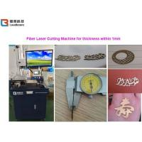 Quality Jewelry Metal Crafts Fiber Laser Cutting Machine Laser Measuring Cutting Tools Clocks Glasses for sale