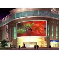China HD P10 Outdoor Full Color LED Display Board  Stadium Led Video Screen 9000 Nits with 960*960mm iron cabinets wholesale