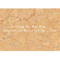 China Strong Covering Power Marble Effect Film , Decorative Door Paper Film Non - Toxic wholesale