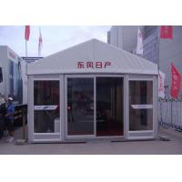 China Customized Outdoor Event Tents UV Resistant / Fire Retardant With Glass Door wholesale