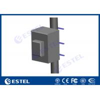 China Equipment Battery Outdoor Pole Mount Enclosure Anti- corrosion Powder Coating Strong Weather Resistance wholesale