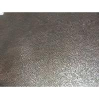"""54"""" Width Leather Car Upholstery Fabric , Faux Leather Fabric For Upholstery"""