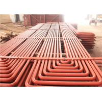 China Stainless Steel Superheater Serpentine Coil Alloy Austenite Anti Corrosion on sale
