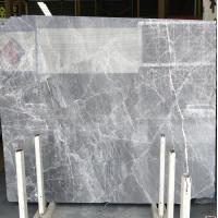 China DORA Grey Cloud Gray Gris / Blue Natural Marble Tile And Slab For Flooring Layout Book Matched wholesale