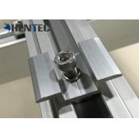 Buy cheap Anodized PV MID Clamp For Roof Mounting Systems , Customized Dimensions from wholesalers