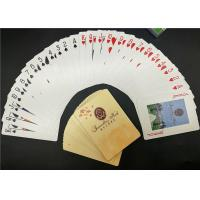 China Poker Size 100 All Plastic Playing Cards Casino Use with Jumbo Index on sale