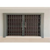 Buy cheap Thickness 2.0mm 6063 Aluminium Security Doors with Sand Blasting from wholesalers