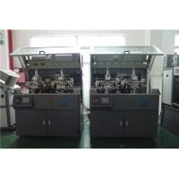 China Make Up Hot Foil Automatic Stamp Machine Two Color Screen Printer wholesale