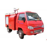 China Emergency Rescue Fire Fighting Truck 2 Axles Fire Service Truck For Mini Foton on sale