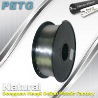 Quality 1.75 / 3.0 mm PETG Filament 3D Printing Transparent Materials 1.0KG for sale