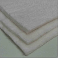 China White color 10mm thickness fiberglass needle mat used for insulation wholesale